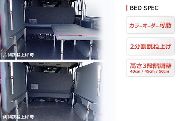 OVERTECH オリジナルベッドキット スペック