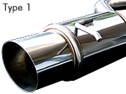 OVERTECH COMPETITION MUFFLER TYPE1