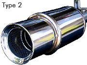 OVERTECH COMPETITION MUFFLER TYPE2
